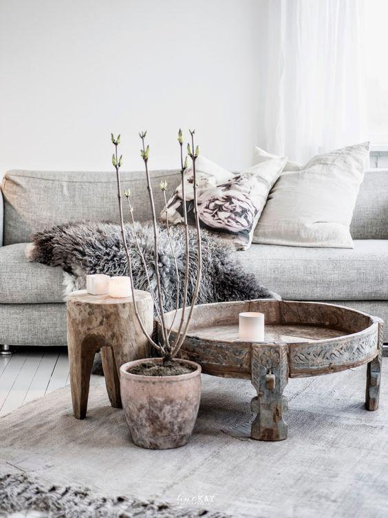 kožešiny dodají kouzlo a styl domovu