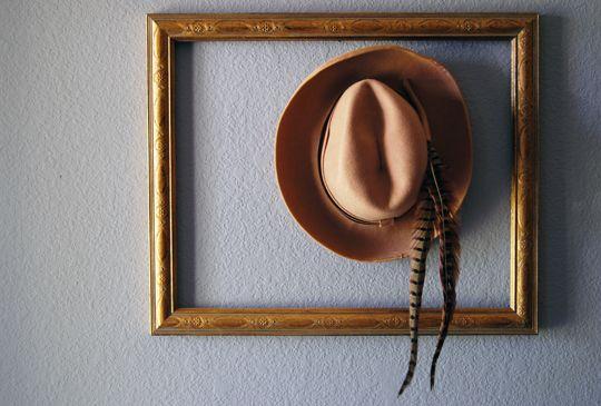 dekorace z klobouků