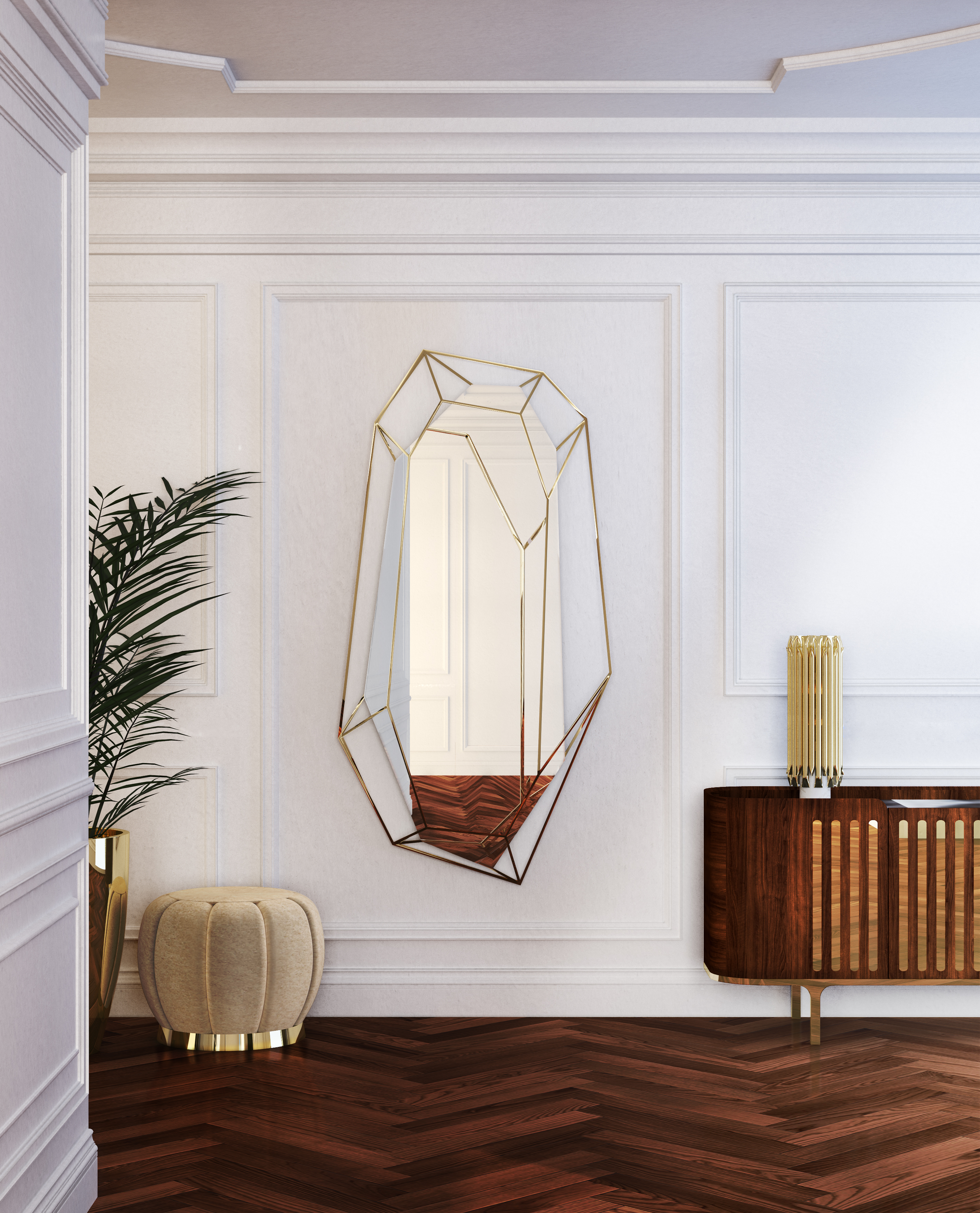 zrcadla v interiéru