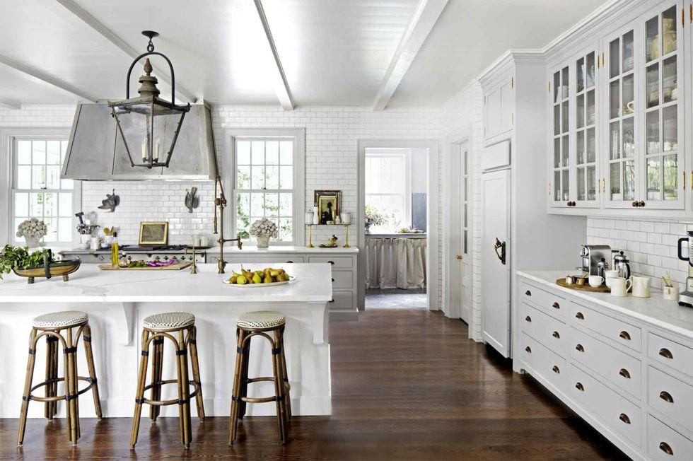 Jak zařídit bílou kuchyni