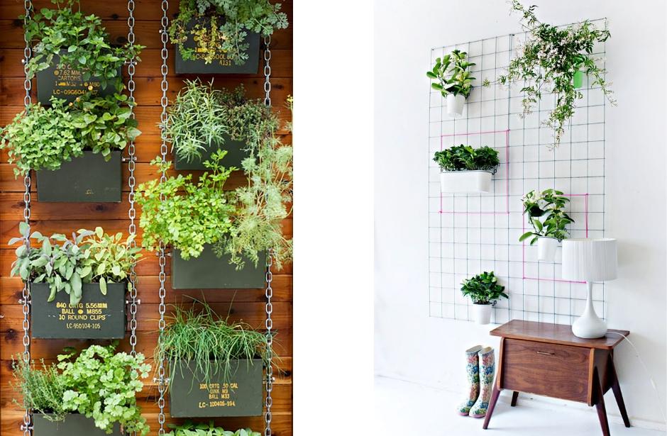 Vertikální zahrada jako způsob, jak vnést do interiéru kus přírody