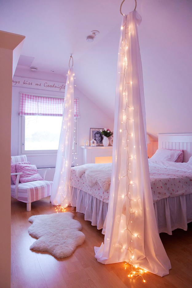 DIY dekorace do pokoje pro teenagery