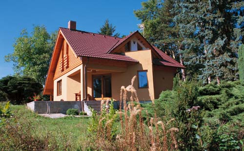 Typový dům s myšlenkou
