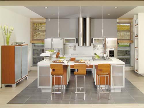 Kuchyně řečená ergonomická