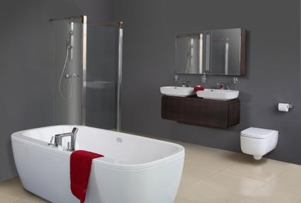 Vzhlednější toaleta, bidet i umyvadlo