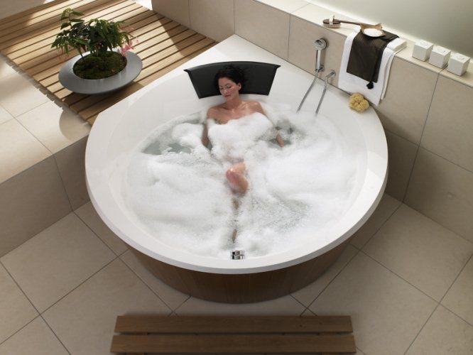 Nechte se hýčkat ve vaně