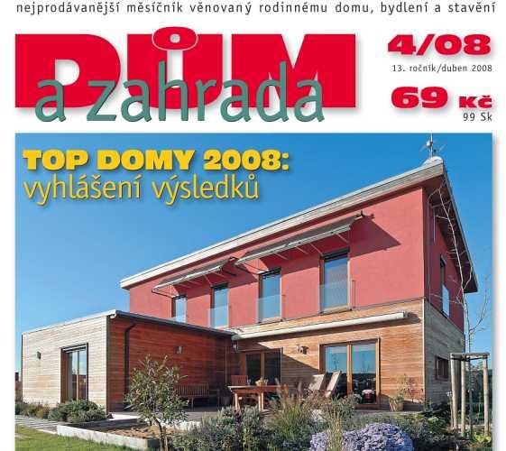 Vyšlo dubnové číslo časopisu Dům a zahrada!