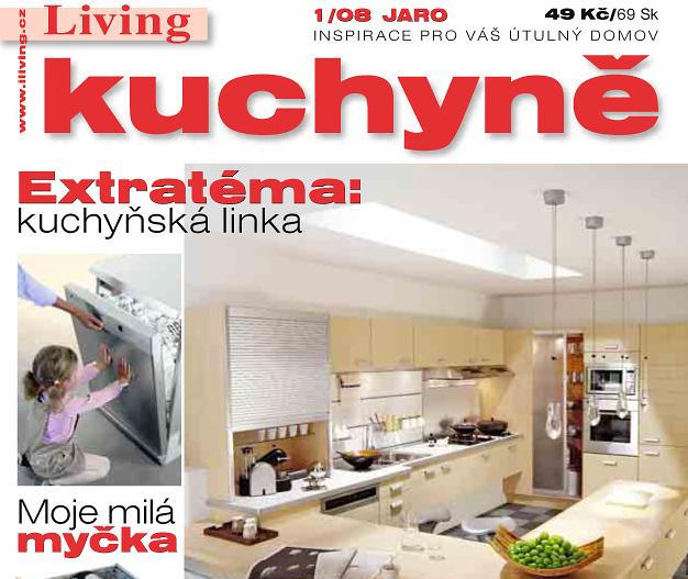 Časopis Living Kuchyně na stáncích!
