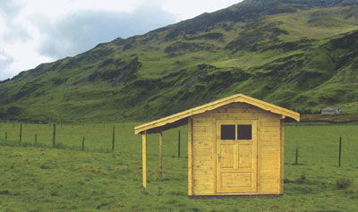 Dřevěné domky, chatky a altány