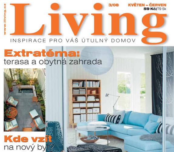 Nové číslo časopisu Living na stáncích!