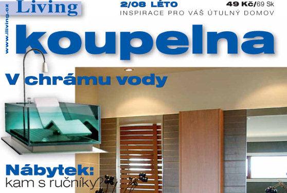 Časopis Living Koupelna v prodeji