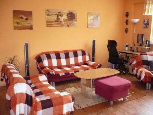 Bydlení čtenářů: Nápaditě zařízený obývací pokoj