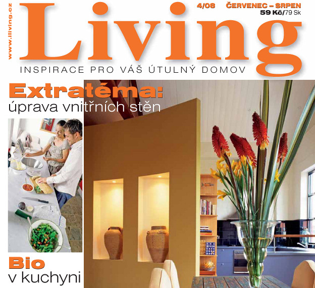 V prodeji je další číslo časopisu Living!