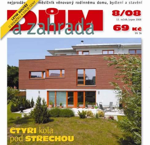 Srpnové číslo časopisu Dům a zahrada v prodeji!