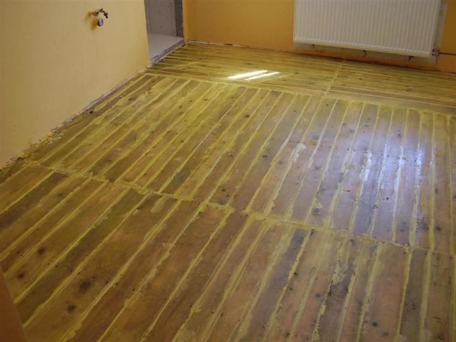 Nová podlaha již za 24 hodin bez nutnosti odstraňování starých vrstev.