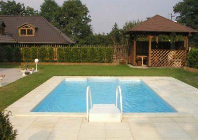 Zazimování venkovního bazénu