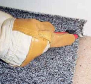 Pokládání kobercových podlah