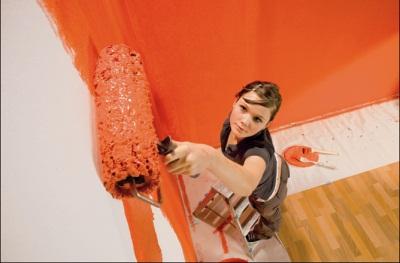 Malování stěn a stropů