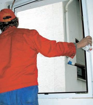 Zabudování nových oken