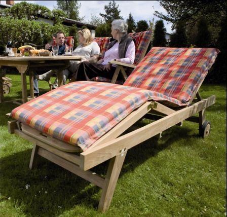 Jak držet dřevěný zahradní nábytek v dobré kondici