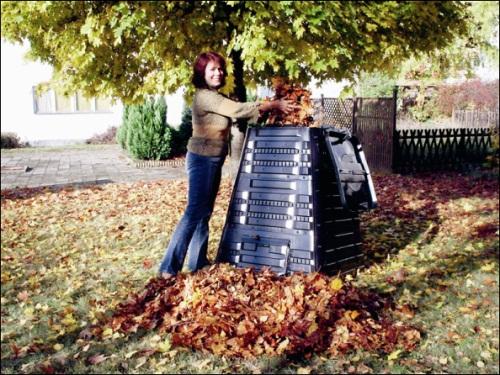 Změňte odpad na kompost a vyděláte