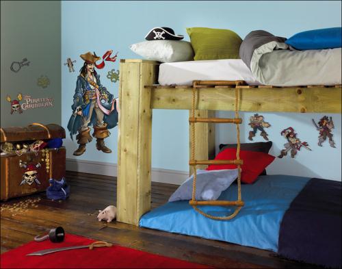 Úpravy a zařízení dětského pokoje