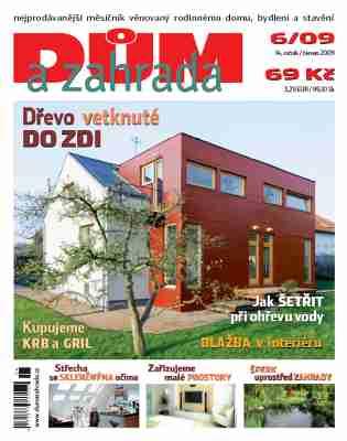 Nové číslo časopisu Dům a zahrada právě v prodeji