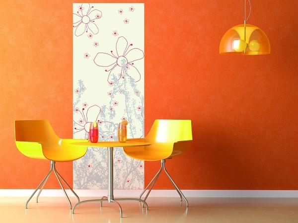 Originální dekorace na stěny i nábytek