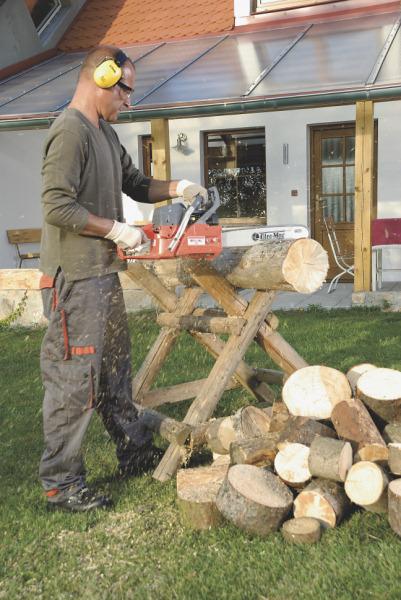 Naporcovat dřevo nemusí být dřina