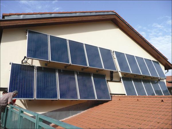 Solární systémy pro bytové domy