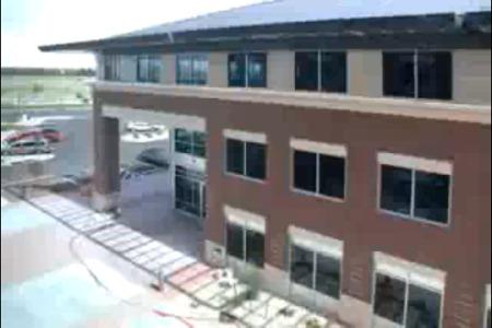 Časosběrné video - stavba budovy Loveland, Colorado
