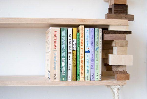 Knihovna z odřezků
