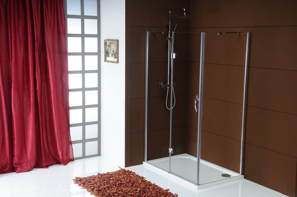 SAPHO LEGRO | Celoskleněné sprchové zástěny