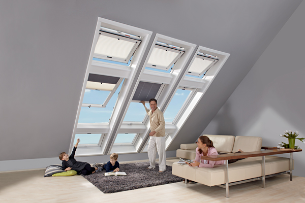 Designo - nová generace střešních oken: Moderní design a technologie budoucnosti