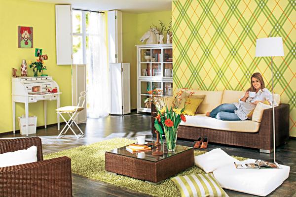 Jarně rozkvetlý pokoj