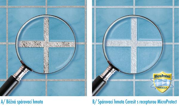 Stavební chemie Ceresit si s obklady a dlažbou rozumí