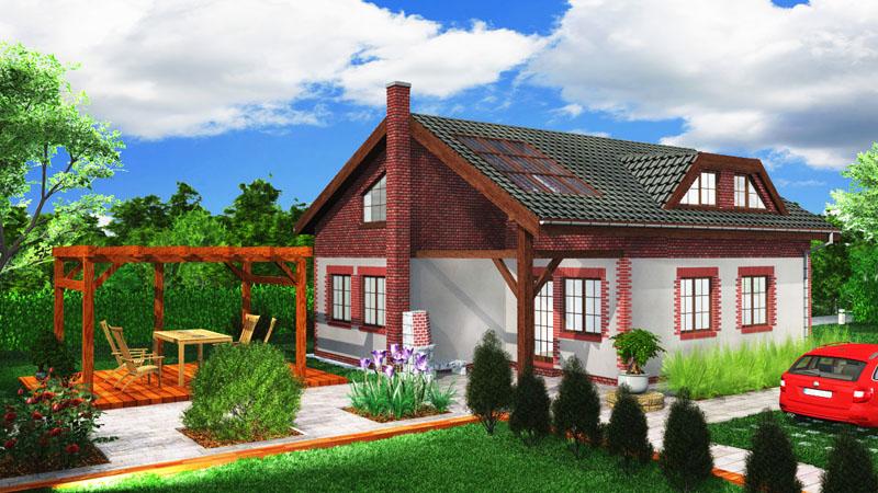 Vyhrajte rodinný dům pro celou rodinu v hodnotě 3 000 000 Kč.