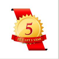 Slavíme 5 let – velká soutěž o hodnotné ceny