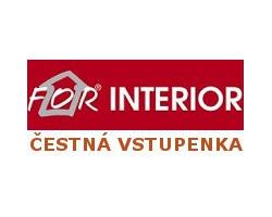 Soutěžte o vstupenky na veletrh bydlení FOR INTERIOR
