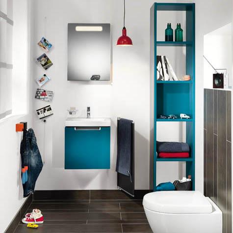 Velká radost z malé koupelny