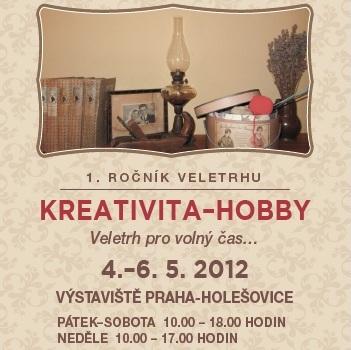 Kreativita-Hobby - veletrh pro volný čas (SOUTĚŽ)
