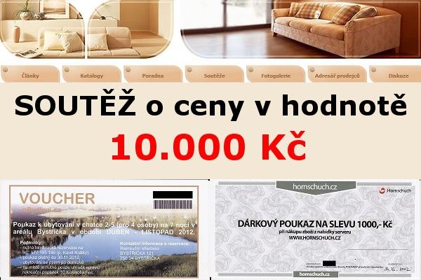 Soutěž o týdenní pobyt a dárkové poukazy v hodnotě 10.000 Kč
