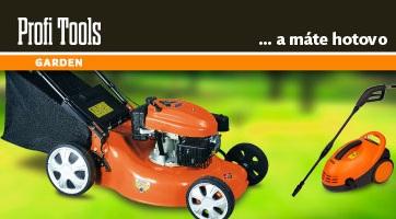 Zahradní technika značky Profi Tools