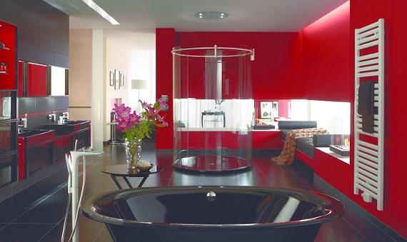Koupelny velkorysé a komfortní