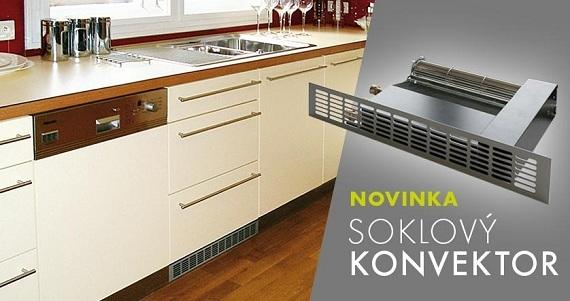 Soklový konvektor – topení pro každou kuchyni!