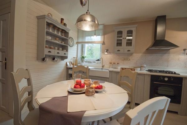 Jak se staví sen - Kuchyň a koupelna v anglickém stylu