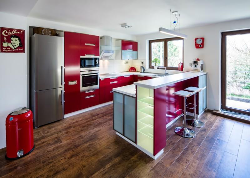 Kuchyň, kde se dobře vaří a chutná už při prvním pohledu
