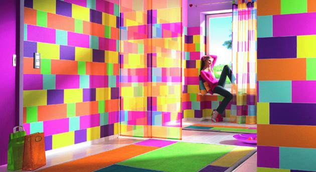 Trendy v bydlení: Styl colour riot znamená vzpouru barev