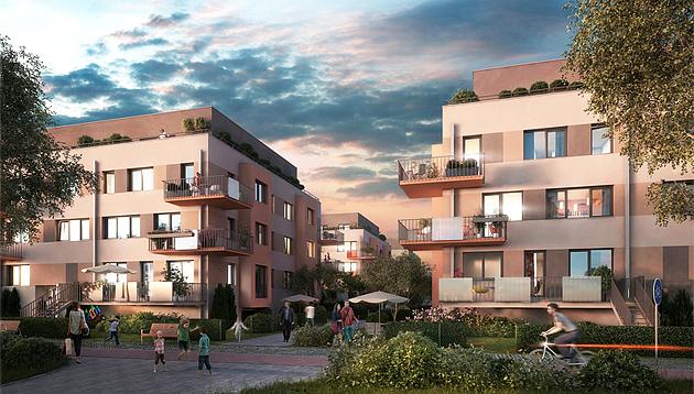 Nové Chabry lákají další zájemce o pětihvězdičkové bydlení