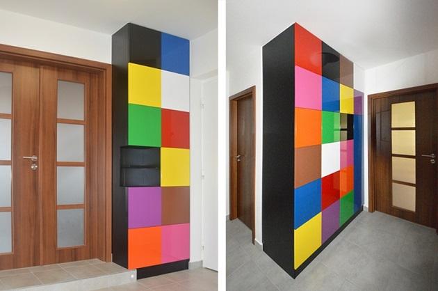 Inspirace pro skříň podle místností